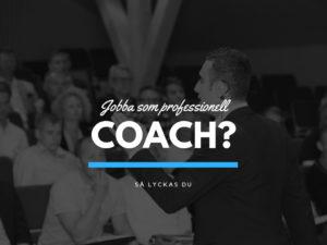 Starta och driva eget som coach